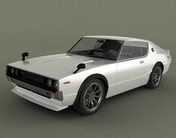 Nissan Skyline GT-R C110 3D