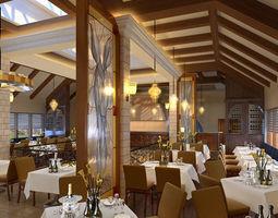 restaurant 07 3d