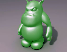 3D printable model Ogre Creature
