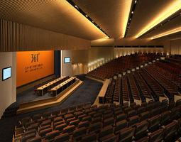 3d model conference room 099