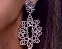 3D printable model Earrings engagement