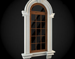 Window 3D model apartment