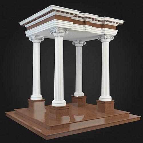3d model gazebo decoration cgtrader for 3d model decoration