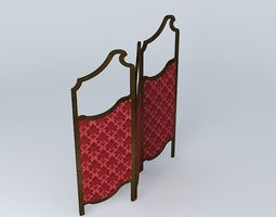 antique screen 3D Model