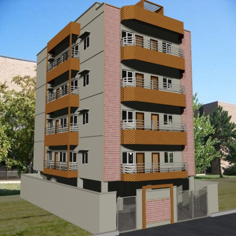 Apartment design 3d model max 3ds for Apartment 3d model