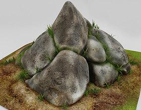 3D model stones for landscape