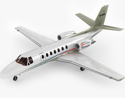 cessna 560 citation v 3d model