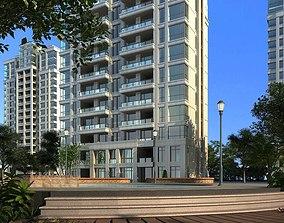 3D model Apartment Building architectural