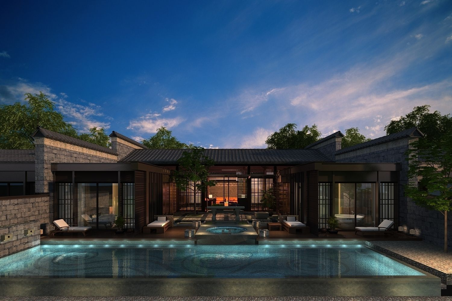 Rich house 114 3D model CGTrader