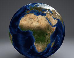 3d model earthglobe 21k