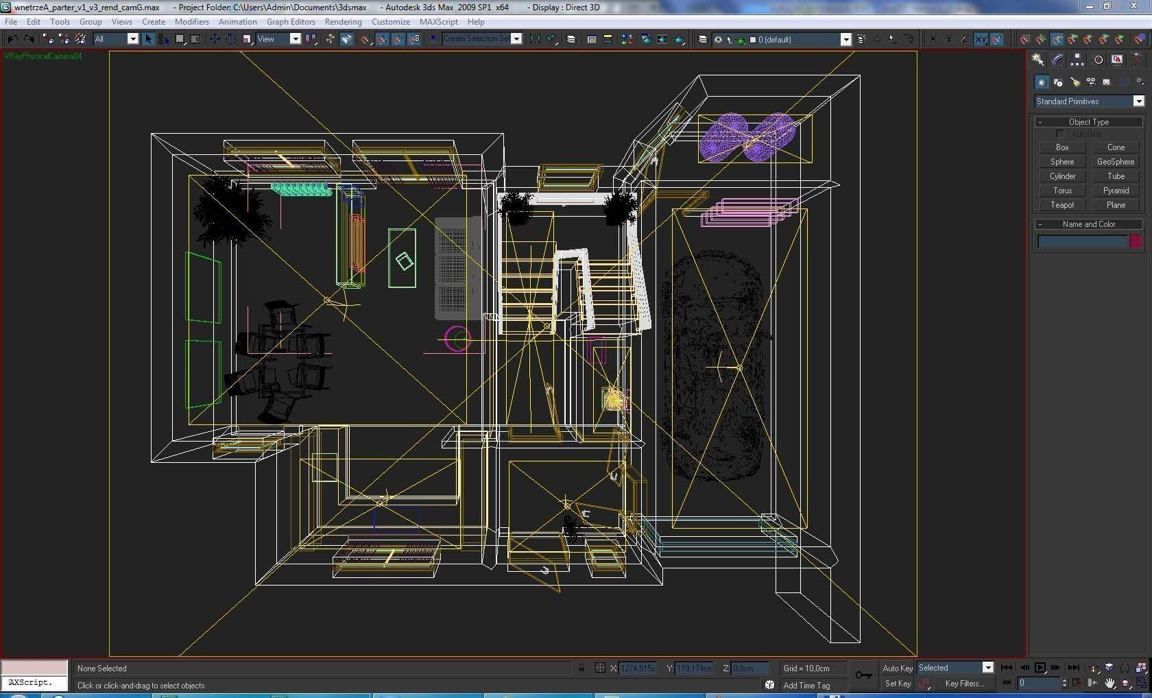 Home Interior Floor Plan 01 3d Model Max Obj