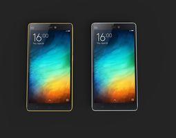 Xiaomi Mi 4i 3D Model