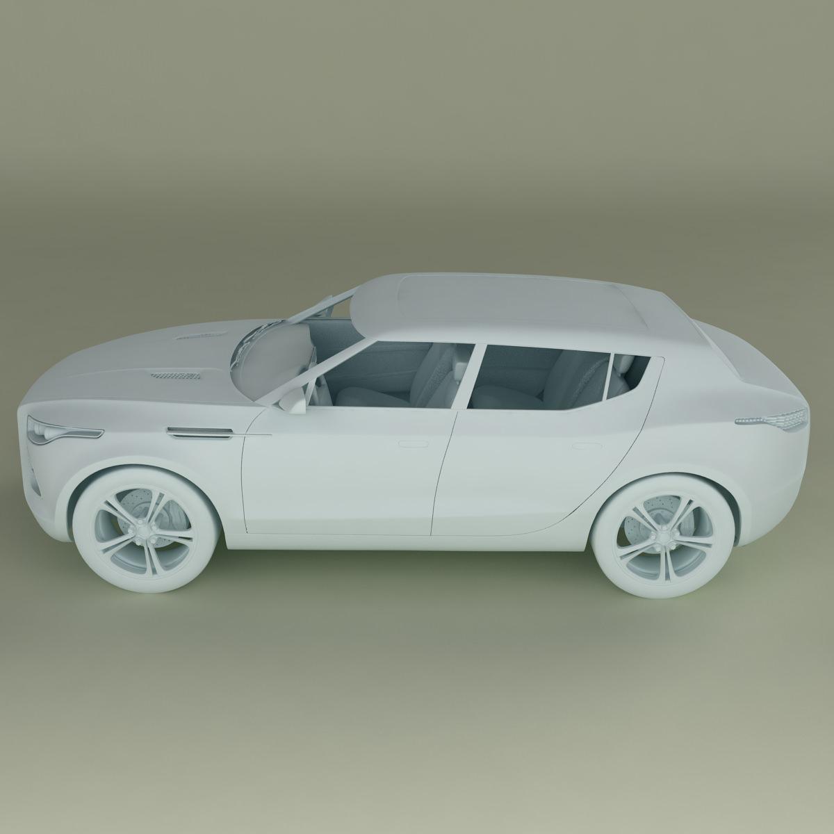Aston Martin Lagonda: Aston Martin Lagonda Crossover 3D Model MAX OBJ 3DS