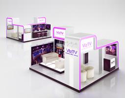3D TV Info Stand