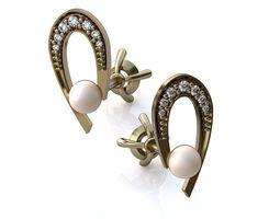 luxurious earrings 029 3d