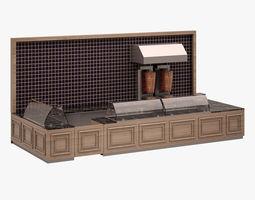 3D asset Bar Set 003