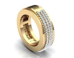 Luxurious Ring 239 3D Model