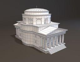 3d print model neoclassical st alexander church miniature