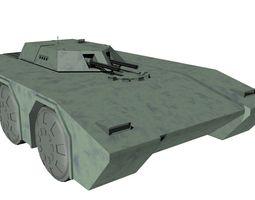 3D model armored car