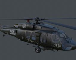 UH-60 Blackhawk 3D Model