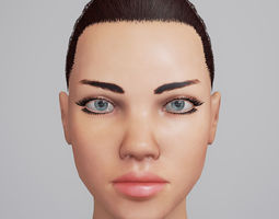 3D asset Adriana Unreal 4 Character