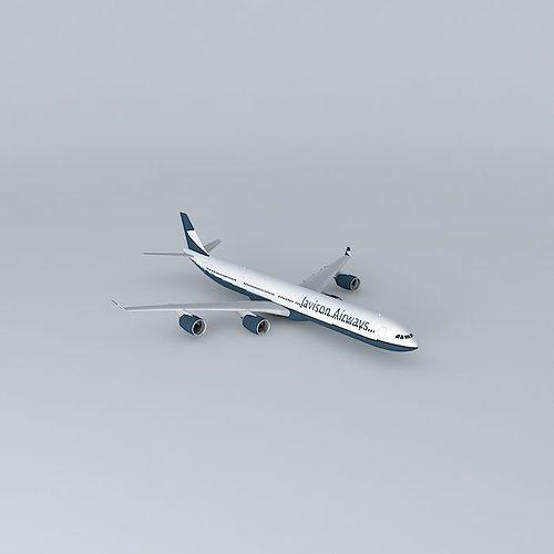 Javison Airways Airbus A340 600