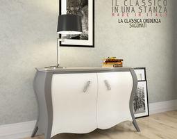 Credenza La Maison : Credenza 3d models cgtrader