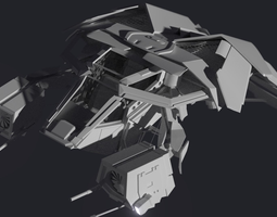 the bat 3d model blend