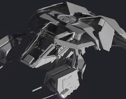 THE BAT 3D Model