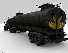 3D asset mad max monstr truck