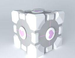 Companion Cube 3D