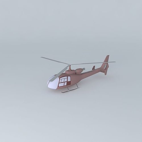 aerospatiale 342 gazelle 3d model max obj mtl 3ds fbx stl dae 1