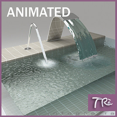 jacuzzi jets 3d model animated max 1