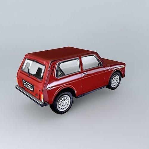 Russian Car Niva 3d Model Cgtrader