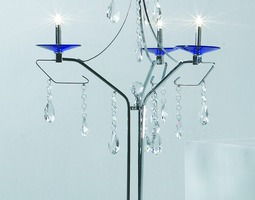 Three Branch Table Lamp 3D
