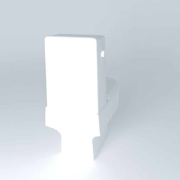 Toilet Bathroom 3D Models Free Download 3D Model Download