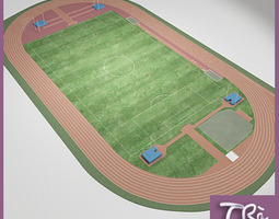 ATHLETIC FIELD 3D