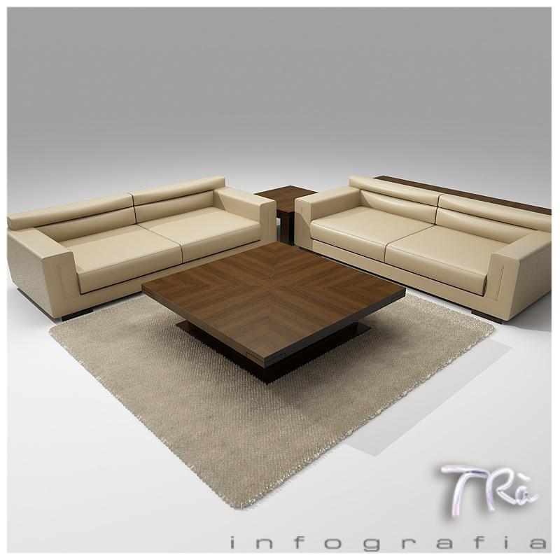 Eros Pack Sofa 3d Model Max