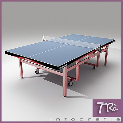 ... Ping Pong Table Butterfly Wheels 3d Model Max 2 ...