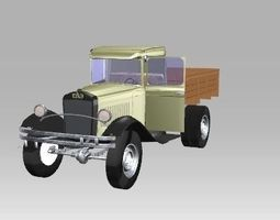 3D model GAZ-AA