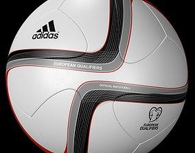 Adidas Official Qualifier Ball 2016 3D asset
