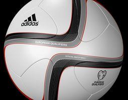 Adidas Official Qualifier Ball 2016  3D Model
