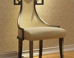Studed Chair 3D