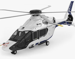 Airbus Helicopter H160 3D Model
