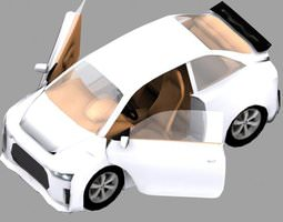 Car Audi RX google car AAA 3D model