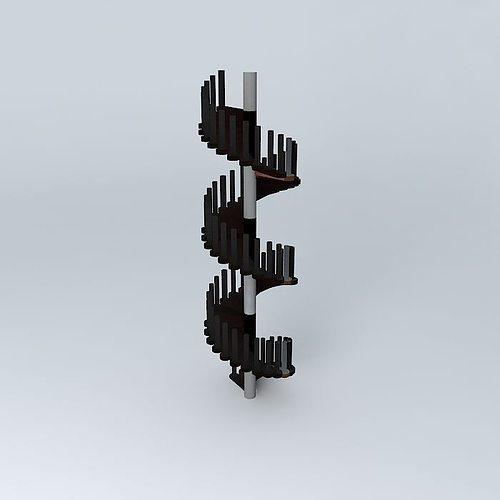 ladder 3d model max obj 3ds fbx stl dae 1