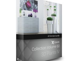 3D Plants IV CGAxis Models Volume 60