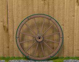 Wagon Wheel 3D decorative