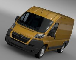 Citroen Jumper 250 L2H2 2006 - 2014 ALL 3D
