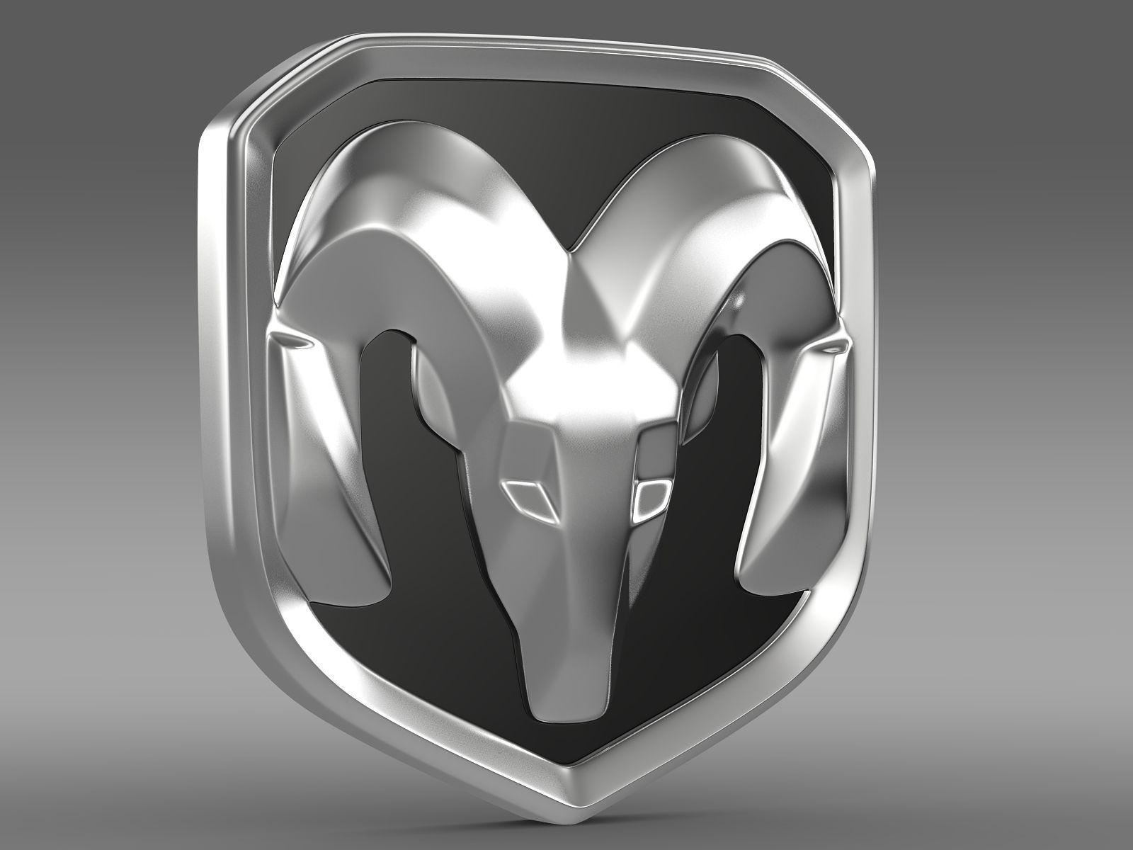 Ram Logo Vector Dodge RAM logo 3D Mode...
